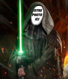 Photomontage de mettre votre photo sur le visage de Luke Skywalker de Star Wars