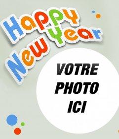 Happy New Year photomontage à votre photo
