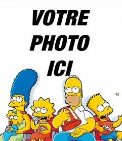 Effet photo de The Simpsons pour télécharger votre photo