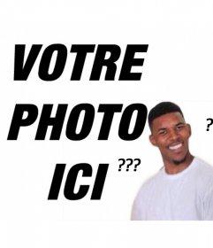 Confused Black Man meme pour télécharger votre photo