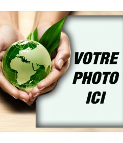 Promouvoir les soins de la nature avec cet effet de photo effet