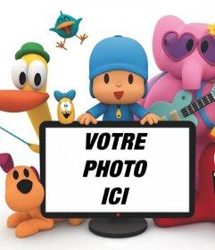 Pocoyo effet photo pour télécharger une photo