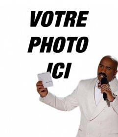 Meme effet photo de Steve Harvey de télécharger une photo