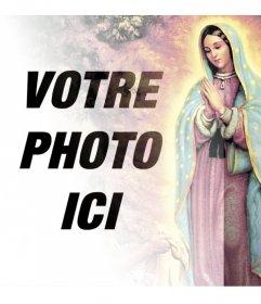 Photomontages avec des images de la Vierge de Guadalupe