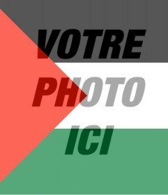 Filtre de drapeau de la Palestine à mettre dans votre photo