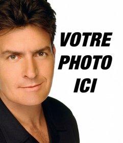Créer un montage de Charlie Sheen pour apparaître dans une photo avec lacteur sur elle