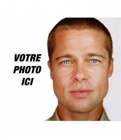 Photomontage pour vos photos avec Brad Pitt