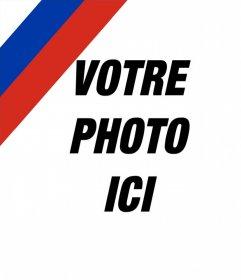 Effet photo pour mettre le drapeau russe dans votre image