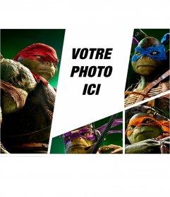 Photomontage avec les nouvelles tortues ninja