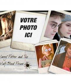 Mettez votre image à côté des protagonistes du film Harry Potter: Hermione Granger, Ron Weasley