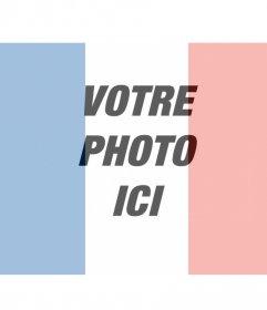 Photomontages avec le drapeau français sur votre photo