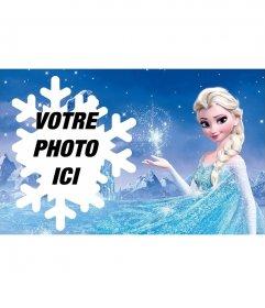 Photomontage avec Elsa
