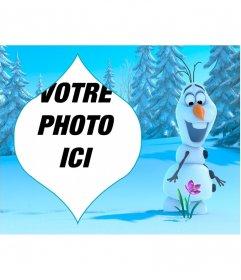 Collage dOlaf de Frozen