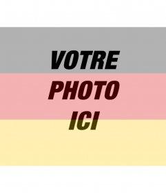 Filtres à drapeaux allemands à mettre sur votre photo