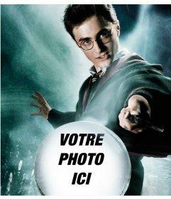 Photomontage de Harry Potter avec un