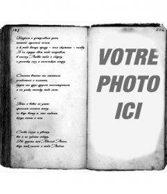 Mettez votre image dans un vieux livre avec ce photomontage en ligne