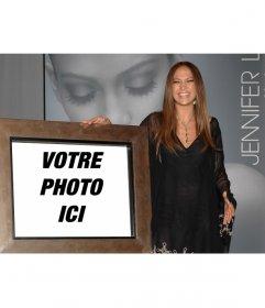 Photomontage de Jennifer Lopez pour obtenir une photo avec elle