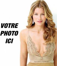 Photomontage de mettre votre photo à côté de Jessica Biel