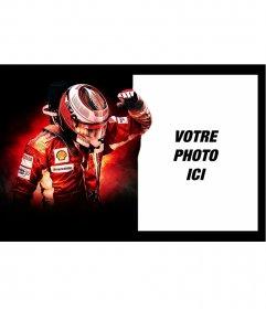 Photomontage de Kimi Räikkönen