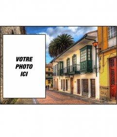 Carte postale avec une image de Bogotá