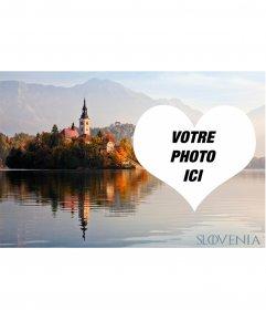 Carte postale de Slovénie pour décorer votre photo