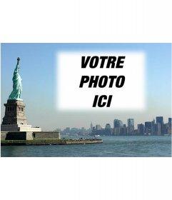 Carte postale avec votre photo du paysage de New York