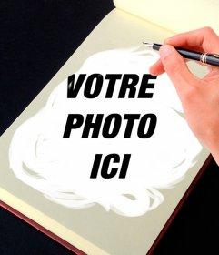 Photomontage un carnet de croquis pour transformer vos photos en œuvres dart