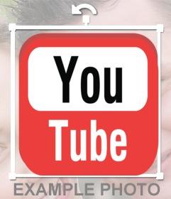 Youtube logo à insérer dans votre photo