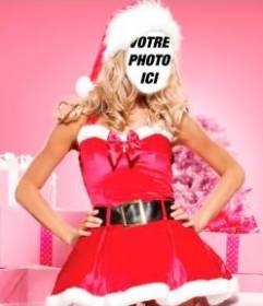 Photomontage de Mama Noel à faire en ligne