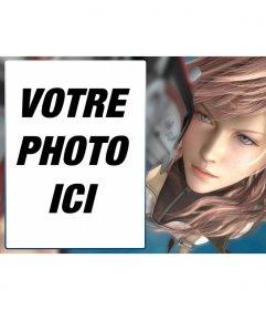 Cadre photo avec une image de Final Fantasy