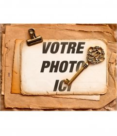 Vintage frame pour répondre à vos photos aussi vieux style ressemble