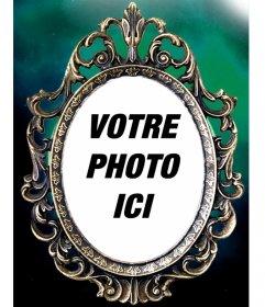 Cadre victorienne avec une touche gothique à encadrer vos photos. Envoyez vos photos