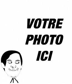 Photo effet de mettre la Meme de Toby Maguire dans Spiderman Funny Face dans votre photo