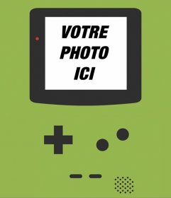 Contexte Game Boy pour vos photos sur un écran dordinateur. Créer cette spéciale