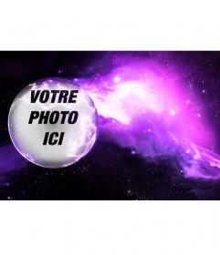 Photomontage de mettre votre photo sur une planète