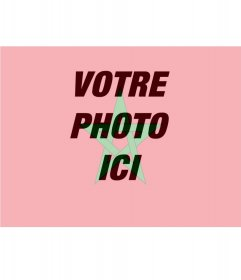 Montage photo pour mettre le drapeau du Maroc avec votre photo