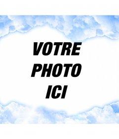 Cadre spécial de photo de nuages 