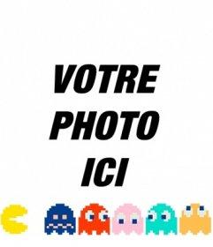 Mettez Pacman chasser les fantômes de couleurs avec ce photomontage en ligne