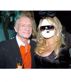 Dans ce photomontage, vous pouvez mettre un visage sur le corps de Pamela Anderson
