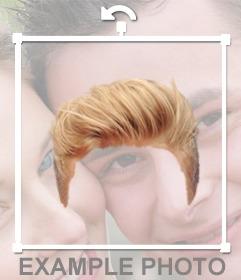 Photomontages pour mettre des perruques homme en ligne