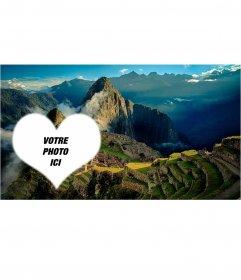 Machu Picchu Carte postale