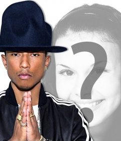 Votre photo avec la chanteuse Pharrell Williams