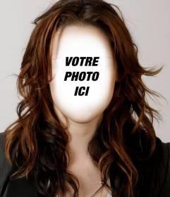 Photomontage de prendre la coiffure Kristen Stewart et changer le look