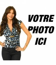 """Photomontage avec Sofia Vergara de Modern TV spectacle familial. Vous pouvez maintenant apparaître sur une photo avec l""""actrice et mannequin colombienne considérée comme l""""une des femmes les plus sexy du monde"""