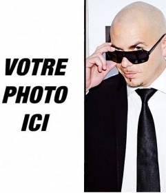Photomontage avec le chanteur Pitbull à faire en ligne