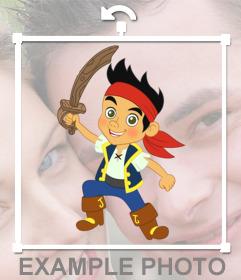 Jake lautocollant Pirate