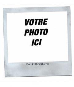 Cadre pour photos style polaroid