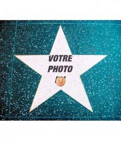 Photomontage dans le walk of fame