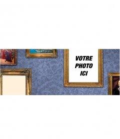 Photo de couverture pour personnaliser avec des cadres photo
