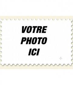 Réaliser un timbre à partir d'une photo, photomontage en ligne